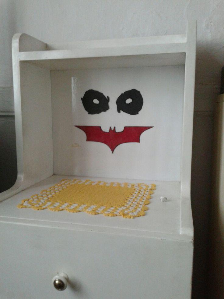 The Dark Knight Joker Face Dekorasyon DIY ... #thedarkknight #joker #jokerface #DIY ...
