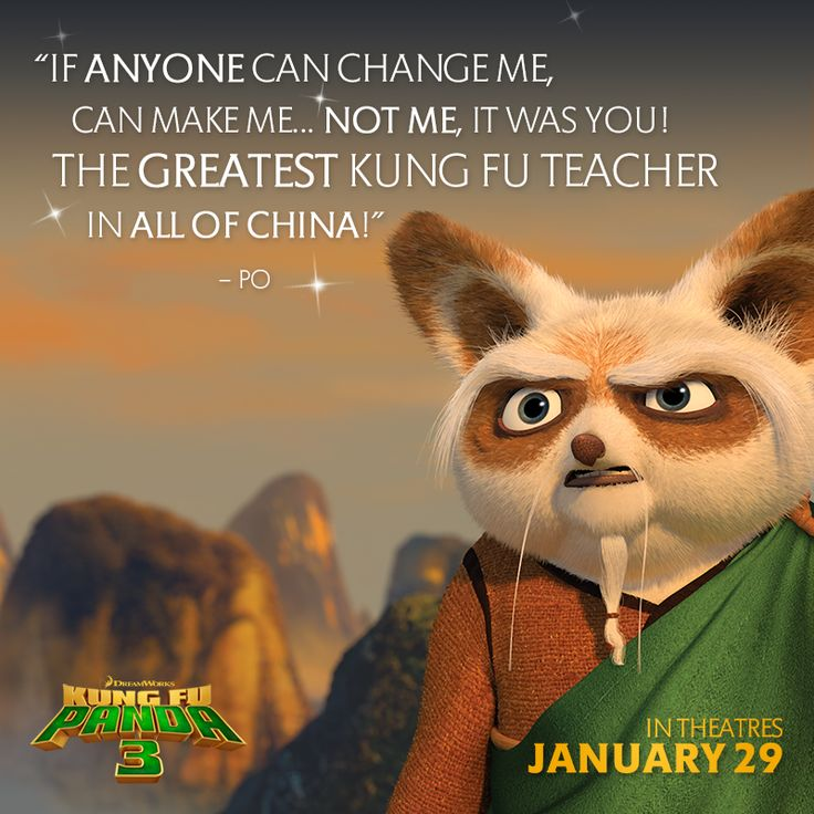 Happy National Teachers Day Kung Fu Panda Quotes Animation Quotes Kung Fu Fighting