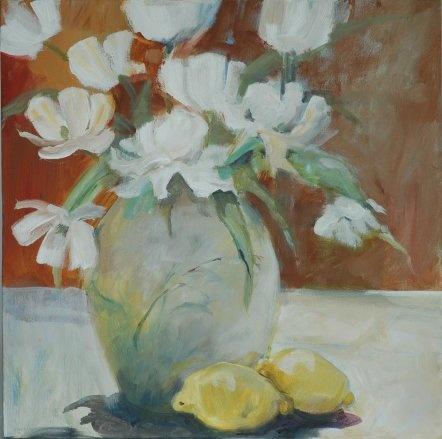Painted in 2010 - 70 x 70 cm   by Mai-Britt Schultz