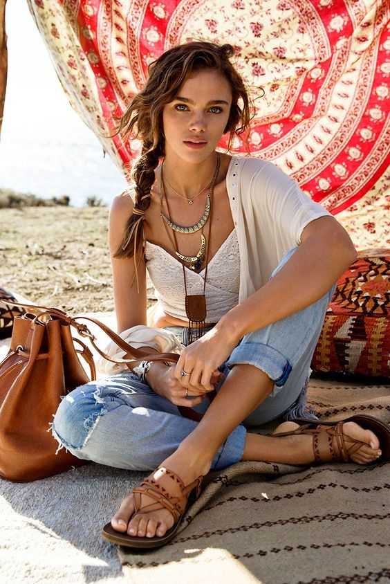 25 cute bohemian fashion ideas on pinterest bohemian chic fashion boho outfits and gypsy fashion Bohemian fashion style pinterest
