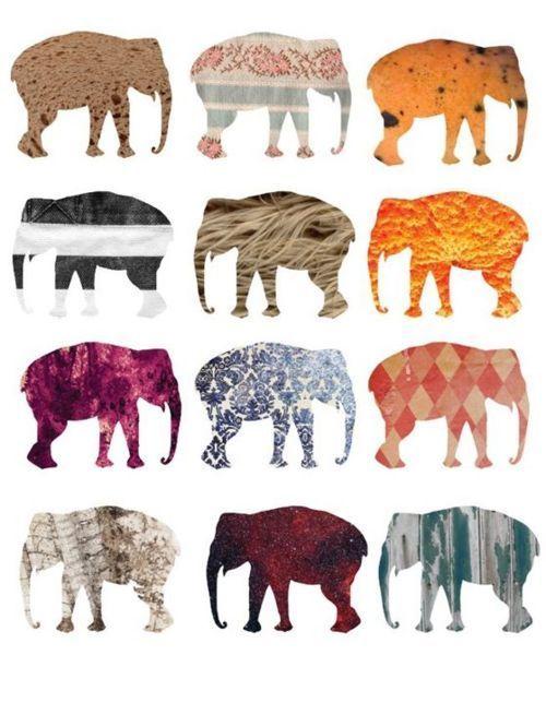 !!Elephant Prints, Design And Prints, Elephant Art, Art Inspiration, Kids Room, Artists Inspiration, Boys Room, Planets Earth, Colors Inspiration