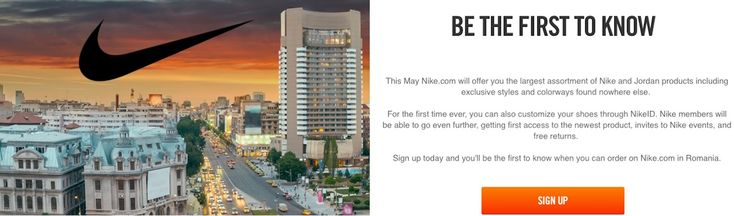 Nike Vine Oficial in Romania