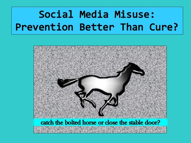 The Digital Chaperone: Should Social Media Companies Be More Pro-Active?