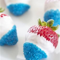 mmmmmm(: think i have an idea for Fourth of July white chocolate
