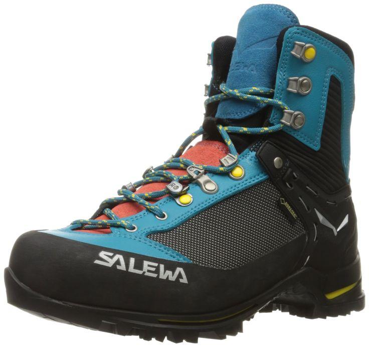 Salewa Women's Raven 2 Gtx Mountaineering Boot, Ocean/Ringlo, 7.5 M US