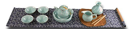 This handmade celadon porcelain tea set is made in Longquan kiln. 9 pieces tea ceremony set is good both for daily use and collection. Website Setup in One Day Domain Names – How to register a domain name of your choice – cheaply. Website Hosting – How to get your domain name hosted, either by pa... see more details at https://bestselleroutlets.com/home-kitchen/kitchen-dining/dining-entertaining/cups-mugs-saucers/teacups/product-review-for-11-pc-handmade-celadon-porcela