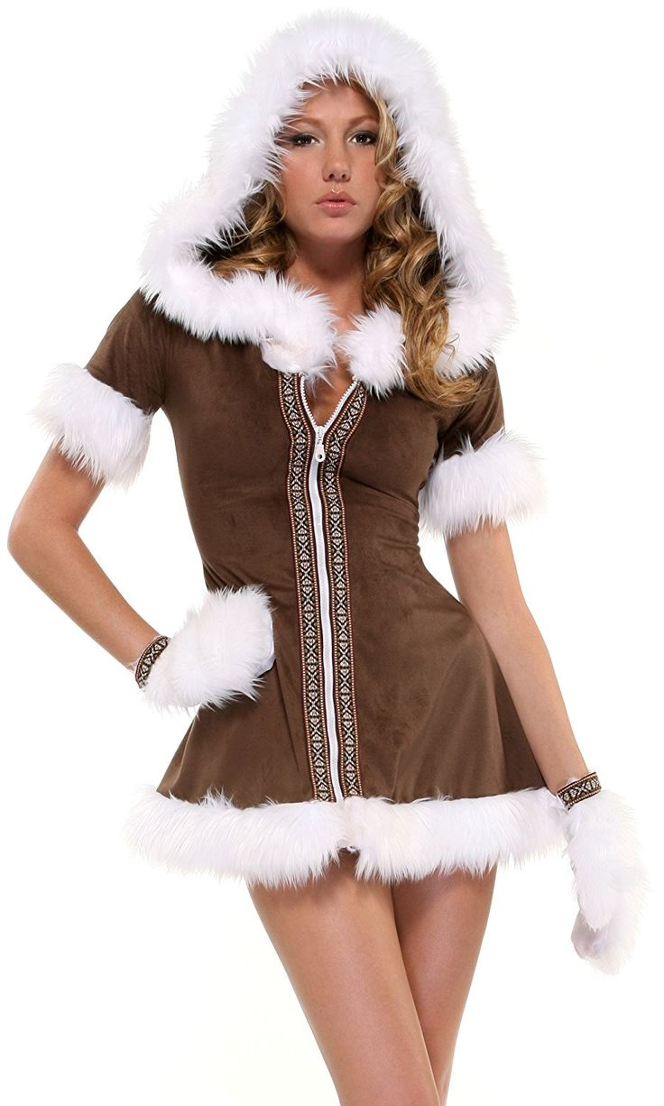 nice Forplay Women's Eskimo Kisses Adult Sized Costumes