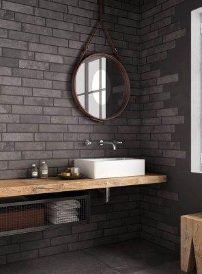 Mensola in rovere massello per il bagno 150x45x6
