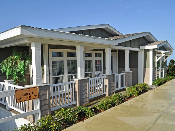 Beautiful Wrapping Porch   La Belle X4766S By Palm Harbor Homes