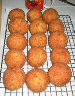 Arancini: Italian Rice Balls, my families recipe has been around for at least 100 years; and we have always made them to have on #Christmas Day,...