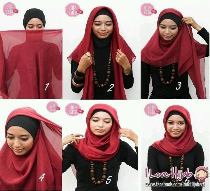 Another simple hijab tutorial