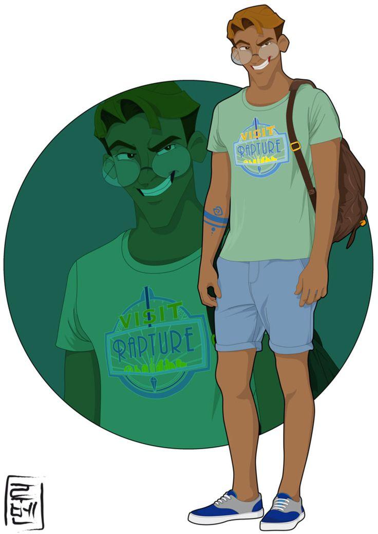 Milo - Ruben Caballero a repris les personnages les plus célèbres pour les transposer dans la peau de jeunes adultes de notre époque.