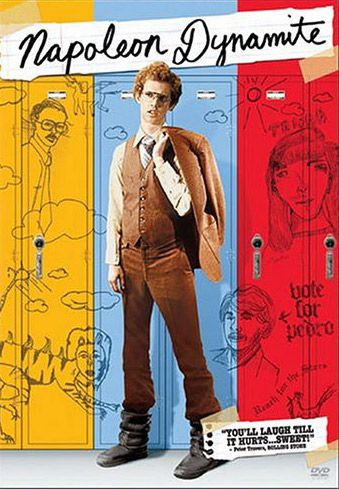 """Napoleon Dynamite. """"I'll do whatever I feel like I want to do, gosh!"""" My most quoted movie by far . . ."""