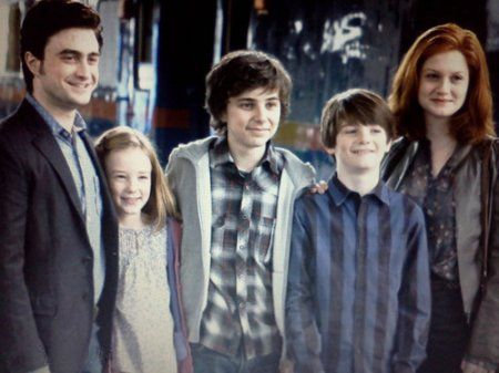 You never really get to see them all together. you need to see though that they are an adorable family.