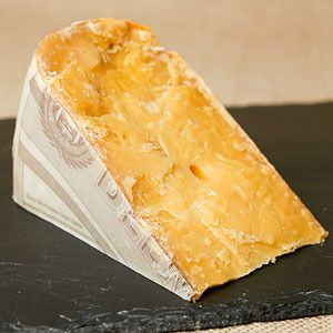 Super-Aged Gouda - If a gouda's been aged for more than three years, it turns into something more akin to candy than cheese. Hard, nearly crystalline, and straight-up sweet, this style of cheese can stand alone on a cheese plate, and serves a most excellent option for dessert for those pernickety non-dessert lovers.