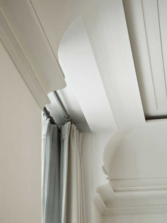 Tsao & McKown  Layering of modern details to achieve an updated antique look. All the detail without the fussy heavy feel.
