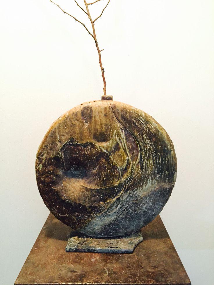 'Moon' 2014 , @woodfired ceramic, @base