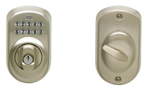 Schlage keypad deadbolt