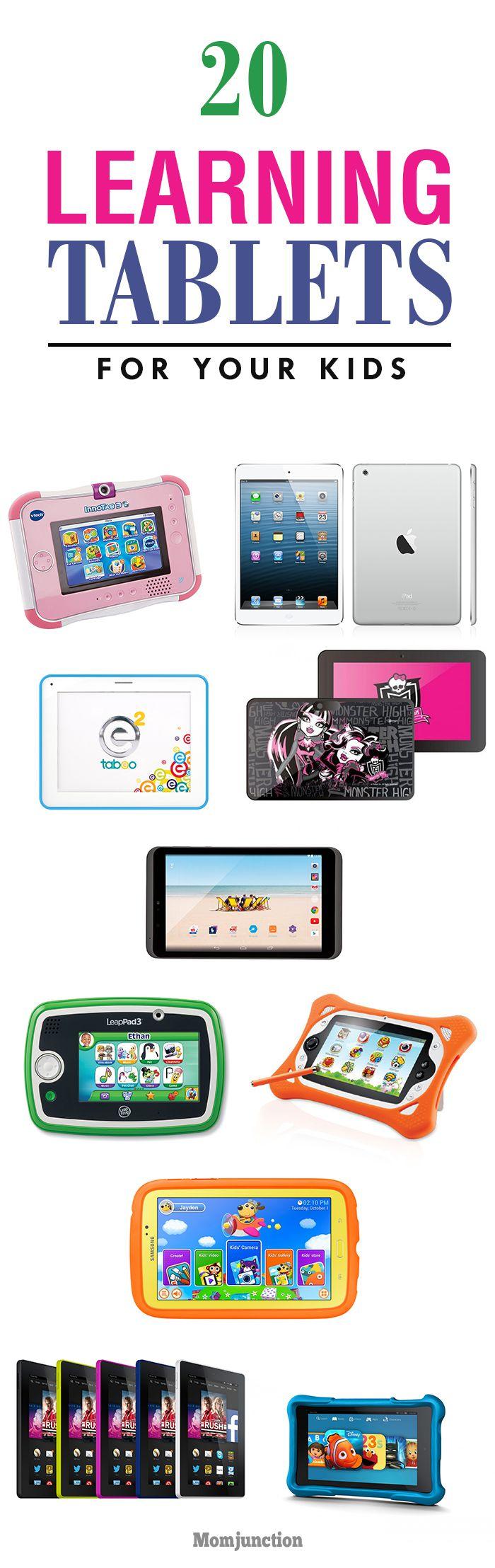 20 Best Learning Tablets For Kids