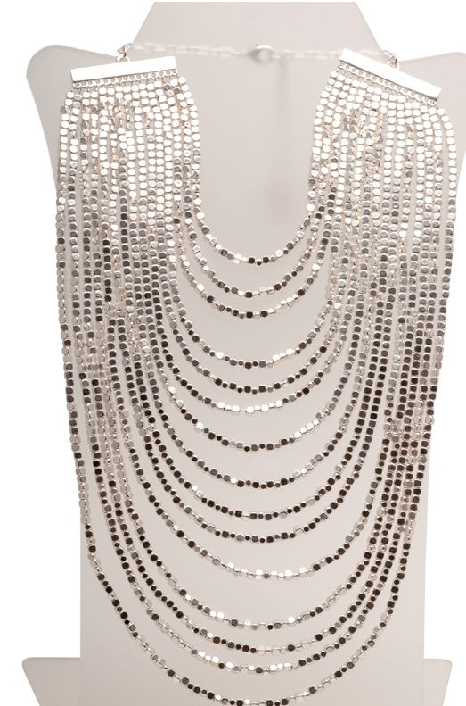 Beaded Bib Statement Necklace | Girl Intuitive