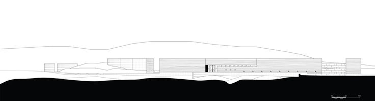 Elevation construction drawings, SIREWALL, Gallery of Nk'Mip Desert Cultural Centre - HBBH Architects