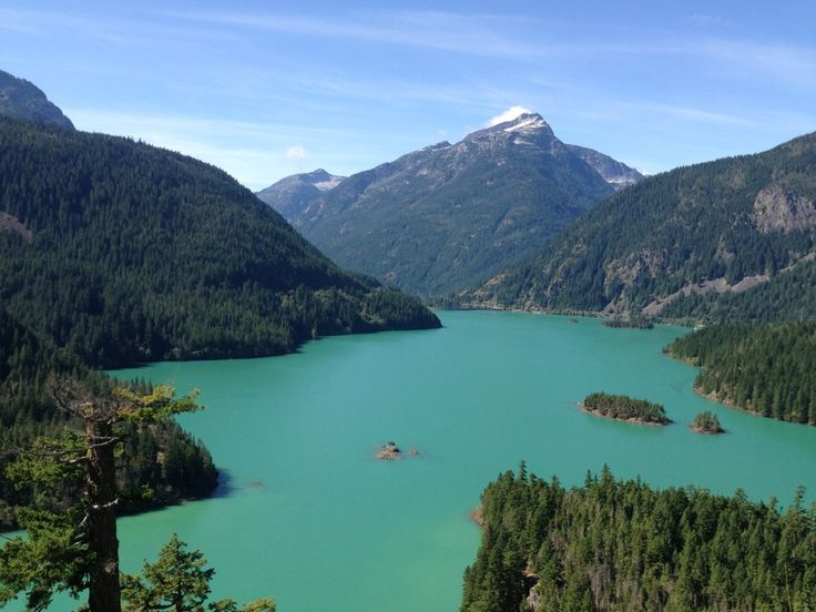 North Cascades National Park in Washington. It  is the largest of the three National Park Service units that comprise the North Cascades National Park Service Complex.  Find more info @ http://en.wikipedia.org/wiki/North_Cascades_National_Park Bring a hammock to hang with @ http://hammocktown.com/