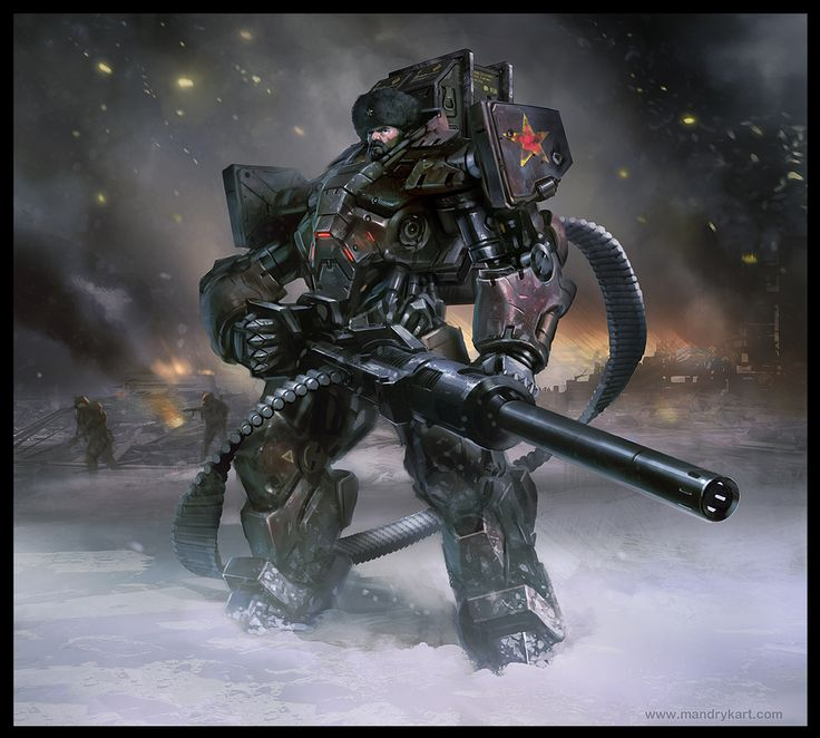 Red Army Mech Suit
