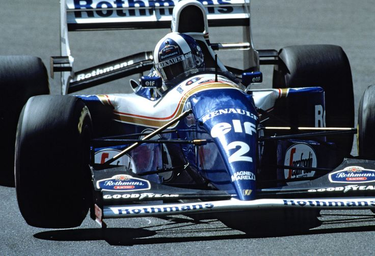 David Coulthard, Williams FW16B - Renault RS6 3.5 V10 (Belgium, 1994)