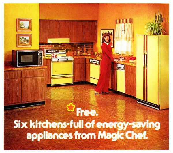 u002770s kitchen brought to you by magic chef appliances 13 best walking across egytp images on pinterest   1970s kitchen      rh   pinterest com