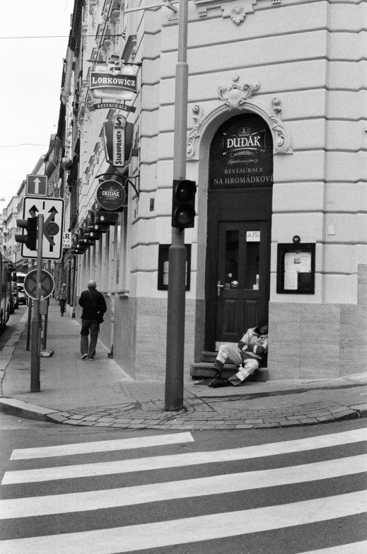 TITLE Where Everyone Knows My Name YEAR OF PHOTO 2015  ARTIST Ben Sasson FORMAT 35mm-film LOCATION Prague,Czech Republic   Please contact for prints, payment and shipment details.