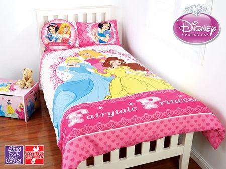 Princess Quilt Cover Set Double