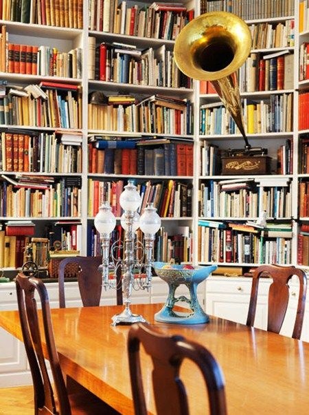 Private Library Study Rooms: 36 Best Images About Dining Room / Home Library On