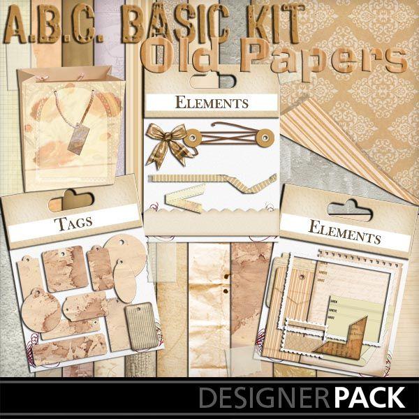 Basic Old Paper Bundle_1