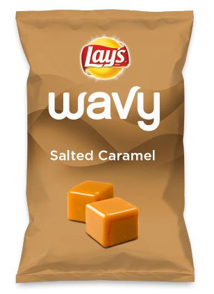 Wouldn't Salted Caramel be yummy as a chip? Lay's Do Us A Flavor is back, and the search is on for the yummiest chip idea. Create one using your favorite flavors from around the country and you could win $1 million! https://www.dousaflavor.com See Rules.