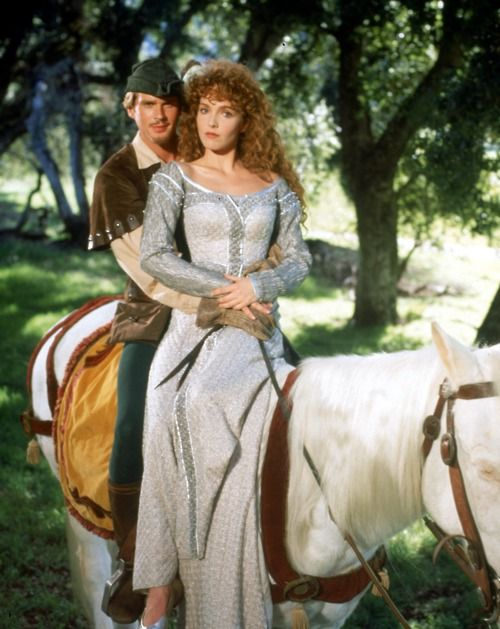 Robin Hood and Lady Marian. This movie is so so great!