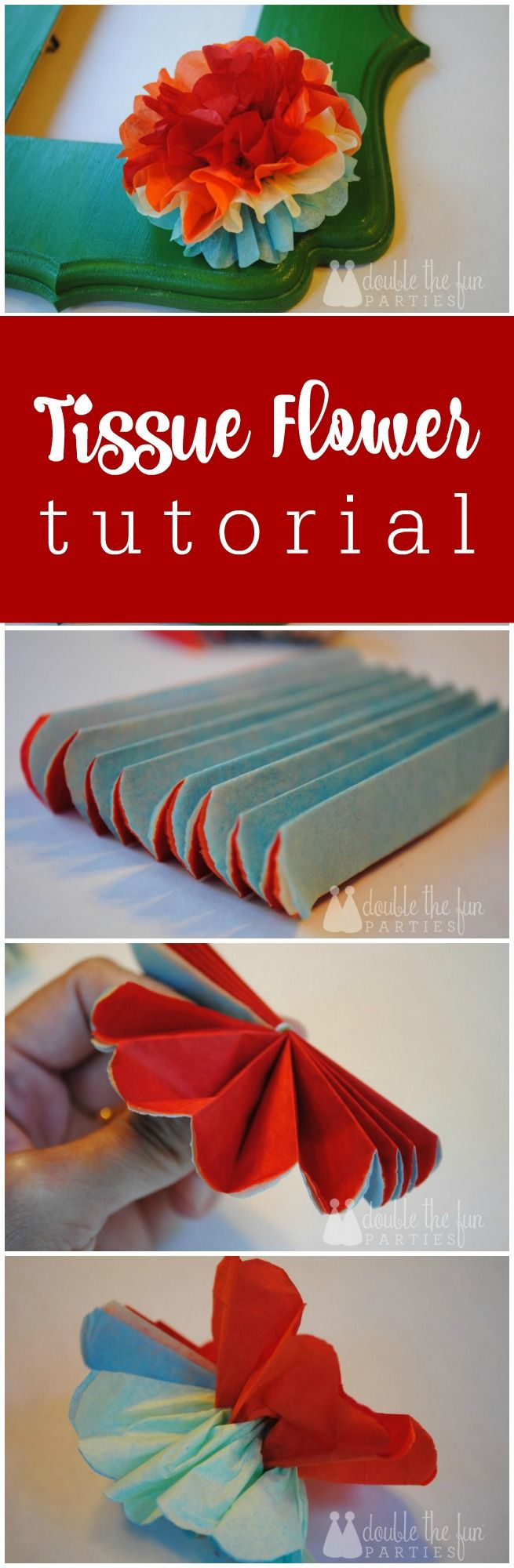 Mexican tissue flower tutorial by The Party Teacher | http://thepartyteacher.com/2013/11/04/tutorial-mexican-tissue-flowers-fit-for-a-fiesta/