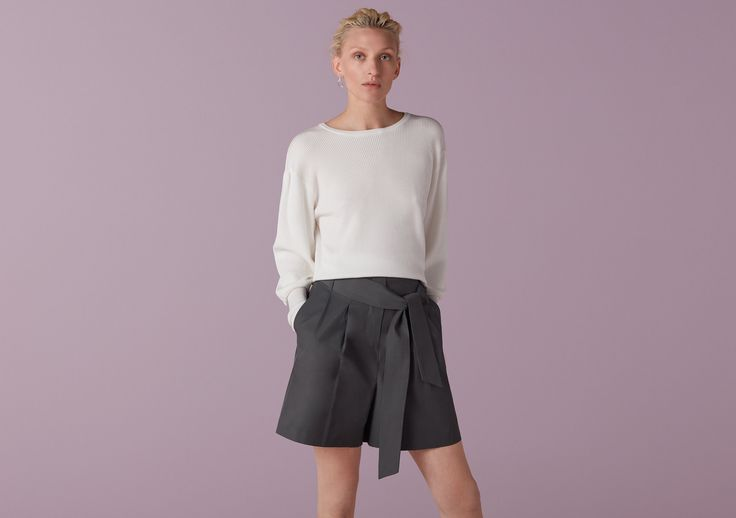Carrington Structured High Waist Shorts - Finery London | UK