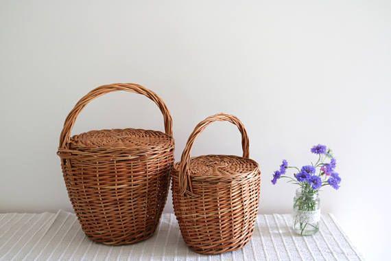 Jane Birkin Basket. This handmade wicker basket is made by a Portuguese artisan.
