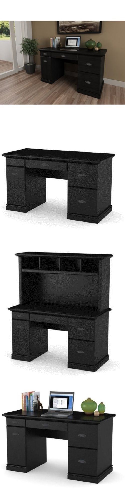 Office Furniture: Office Computer Desk Computer Workstation Home Furniture Wood Table BUY IT NOW ONLY: $152.22