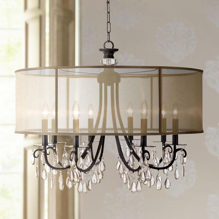 The 25 best bronze chandelier ideas on pinterest allen roth crystorama hampton 32 wide english bronze chandelier aloadofball Gallery