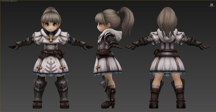 ArtStation - TREE OF SAVIOR PALADIN, bli D