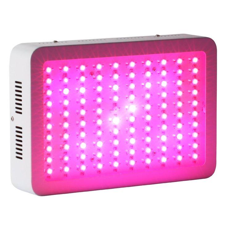 Roleadro 300W LED Pflanzenlampe für Gewächshaus Pflanze Bluete im Growbox Weiß…