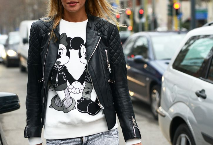Mickey + Moto equal kapow #manrepeller