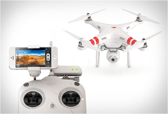 #PHANTOM 2 VISION with integrated high end #camera : by #DJI : via @blessthisstuff
