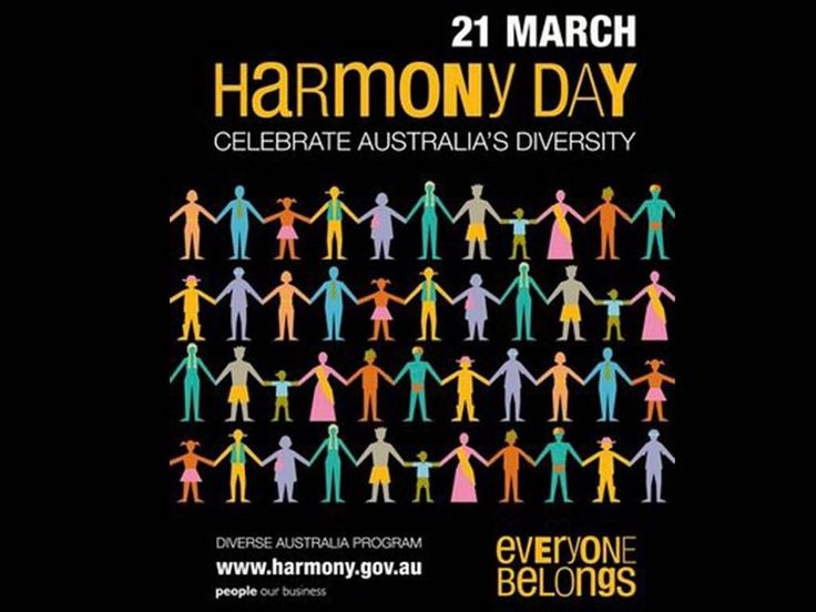 So many reasons to celebrate! Today and every day! 🌞😄  #harmonyday2017 #harmonyday #celebrate #culturaldiversity