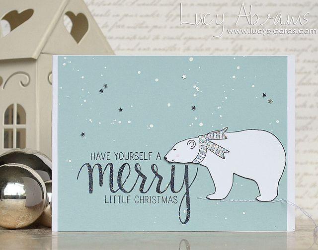 Christmas Polar Bear by Lucy Abrams!