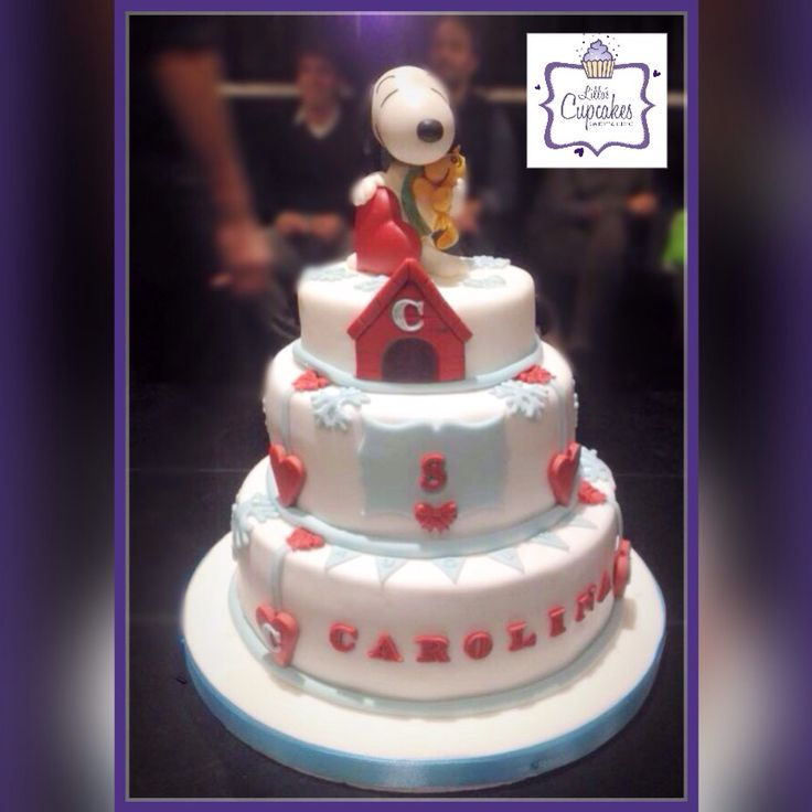 Snoopy Cake - Liliana Blanco