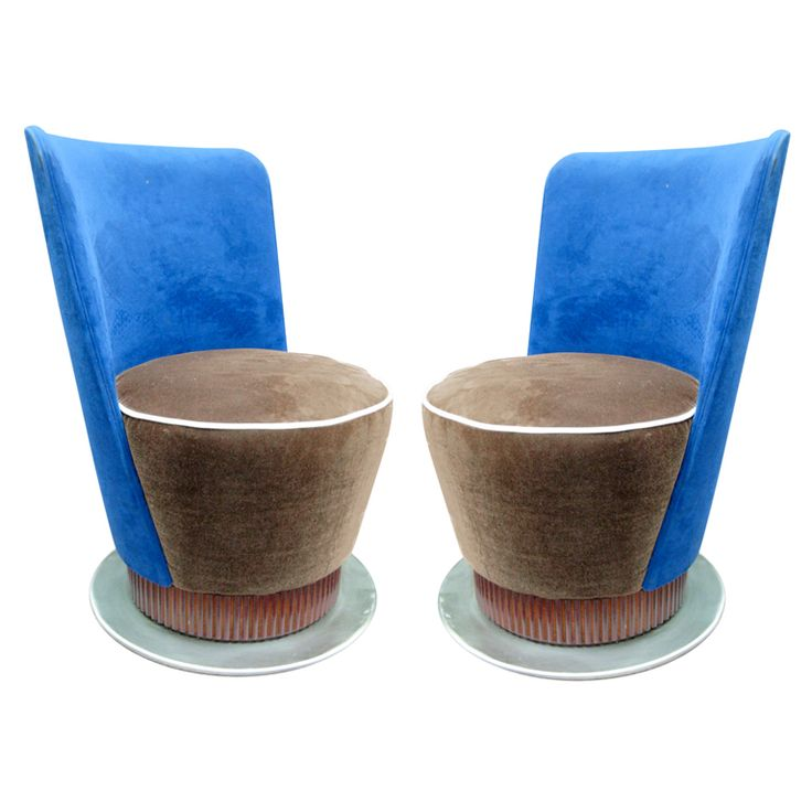 view this item and discover similar slipper chairs for sale at italian modernist extremely comfortable vanity chair with back
