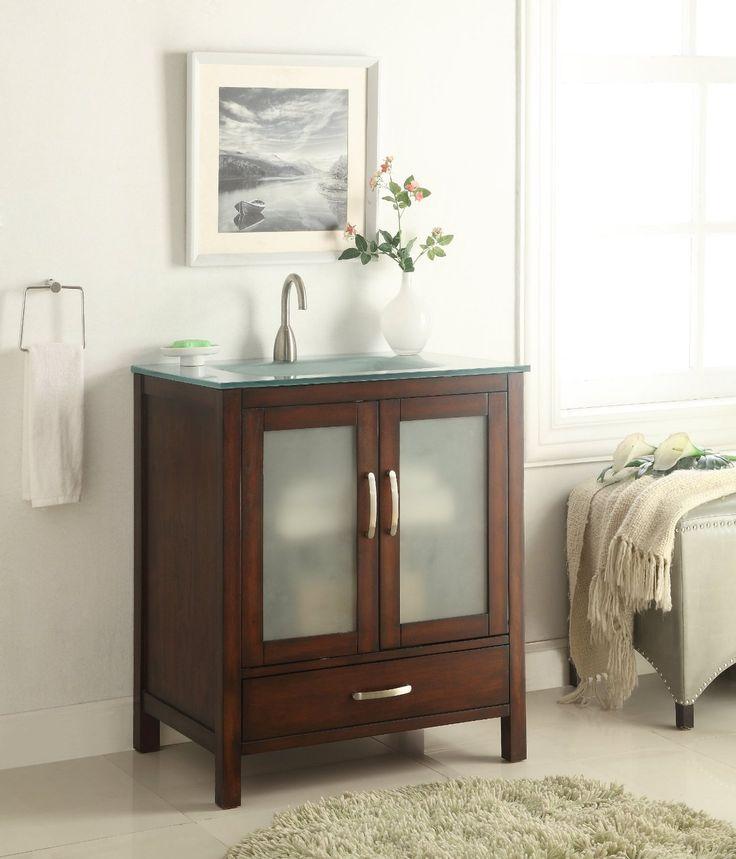Modern Bathroom Sink Cabinets 14 best vessel sink vanities images on pinterest | vessel sink