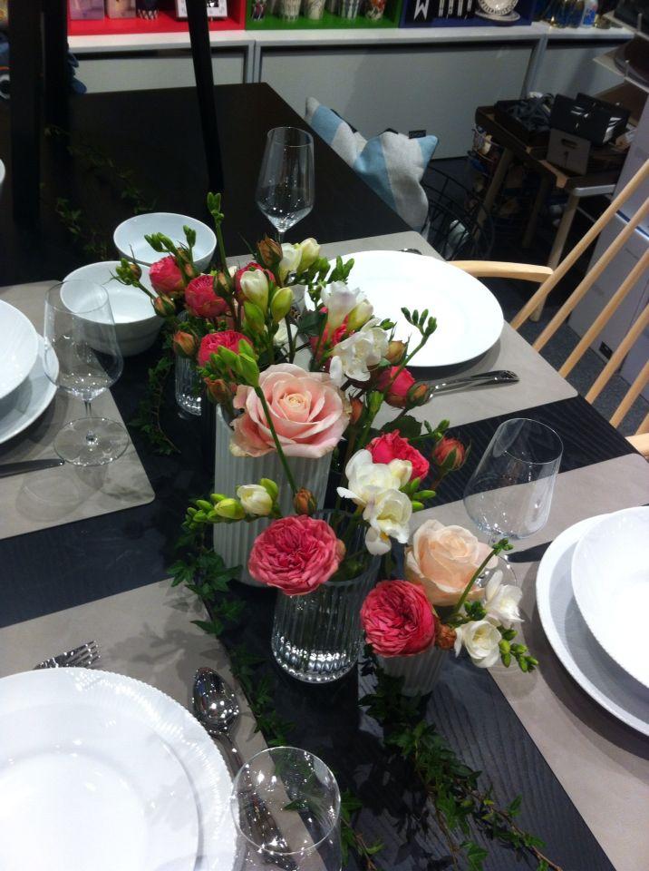 Romantisk borddekor